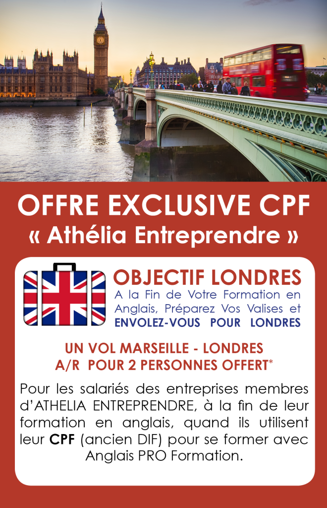 OFFRE WEBSITE athelia antreprendre objectif londres 3